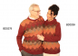 Preview: Men's Alpaca Crew-Neck Sweater Chess
