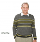 Mobile Preview: Alpaka Pullover in Norweger-Optik