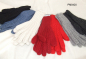 Mobile Preview: Alpaka Handschuhe mit Strickmuster