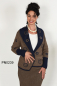 Preview: Damen Wendejacke in Alpaka