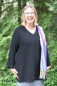 Preview: Large Women's Alpaca V-Neck Tunic