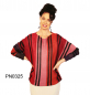 Preview: Womens Alpaca Sweater in Butterfly-Form, red colors, long sleeves