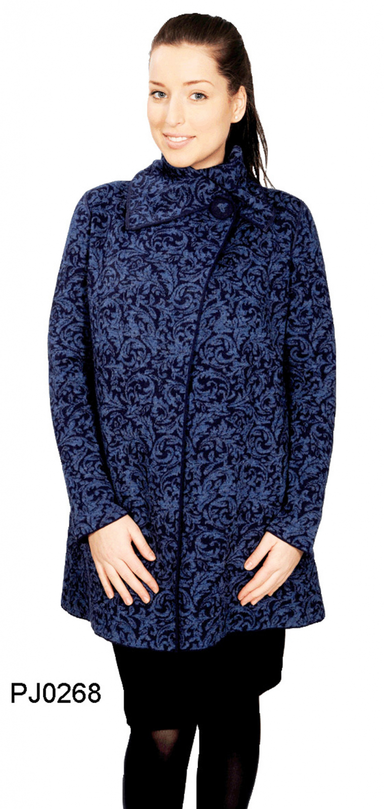 Women's Alpaca Long-Jacket Kyoto