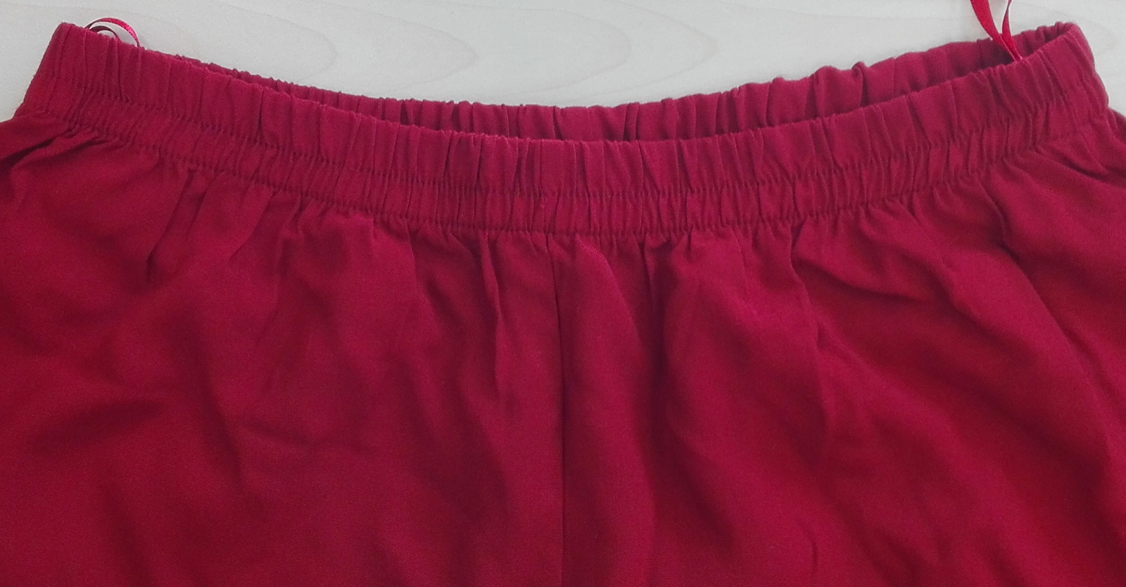 viscose pants, wine red