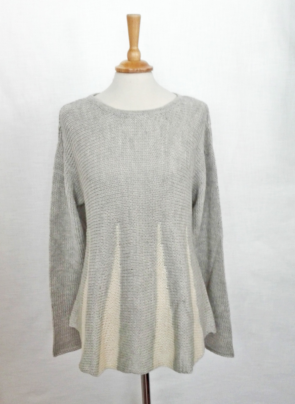 Women's Flared Alpaca Sweater
